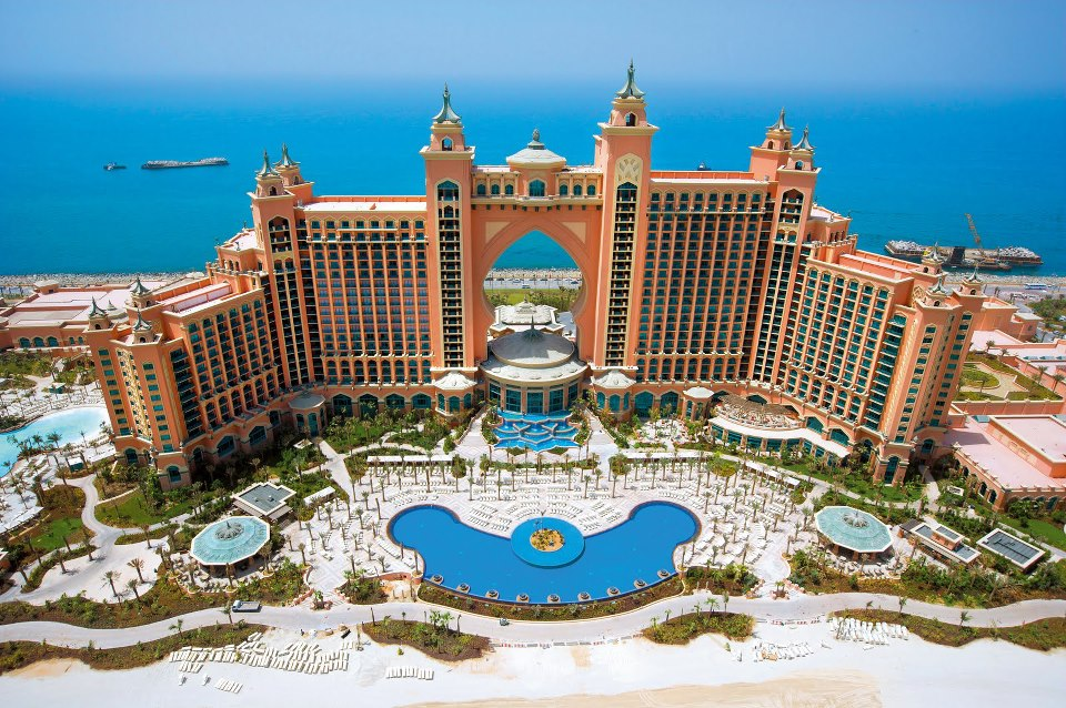 Atlantis Palm Hotel in Dubai from Bangalore