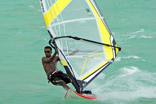 Visit Wind Surfing Maldives from Bangalore, INDIA