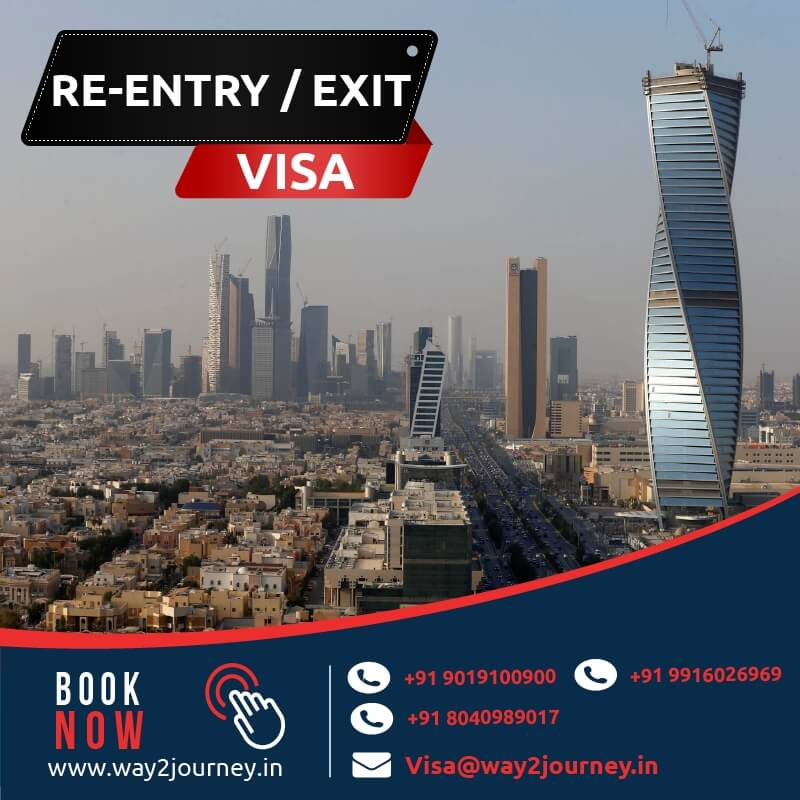 Saudi Extension of Exit / Re Entry Visa agency in bangalore, mumbai, india