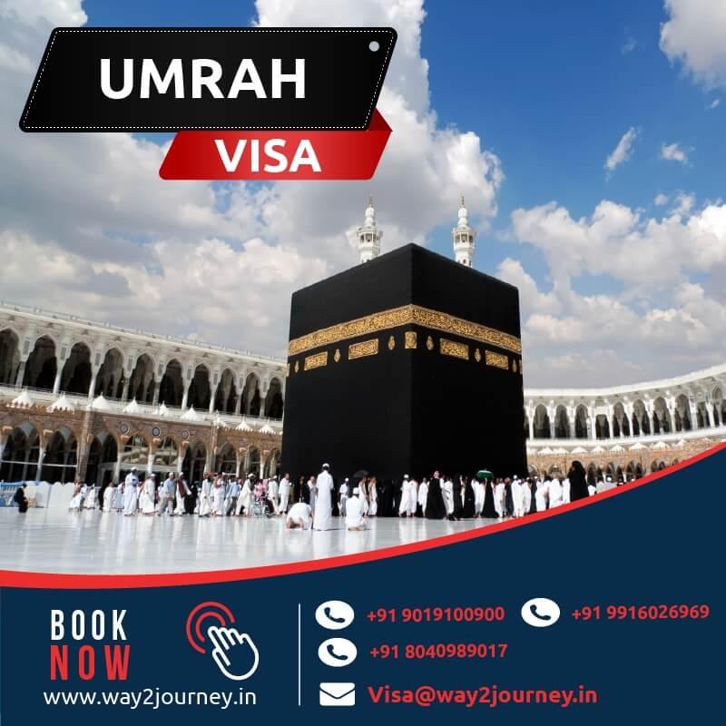 Saudi Umrah visa fees, saudi umrah visa company in bangalore, mumbai, india