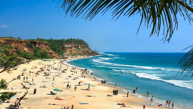 Varkala Beach | Best Kerala tour operators in Bangalore, Karnataka, India