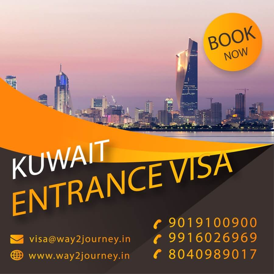 Kuwait Extension of Exit / Re Entry Visa agency in bangalore, mumbai, india