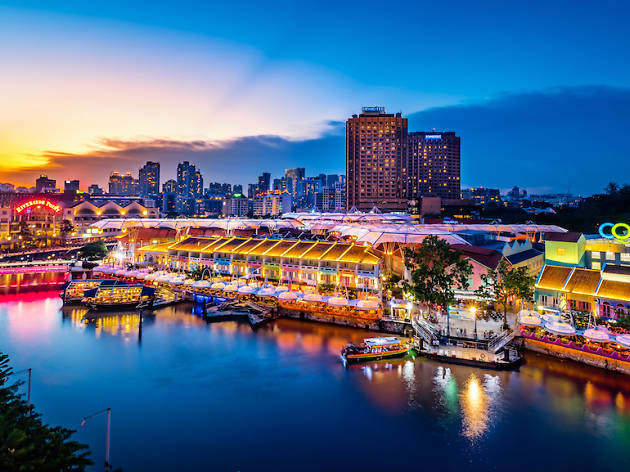 Clarke Quay, best travel agency in Bangalore